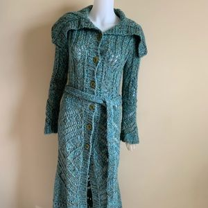 Free People, XS Full Length Chunky Cardigan